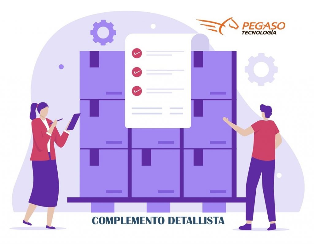 Complemento detallista - Pegaso Tecnología