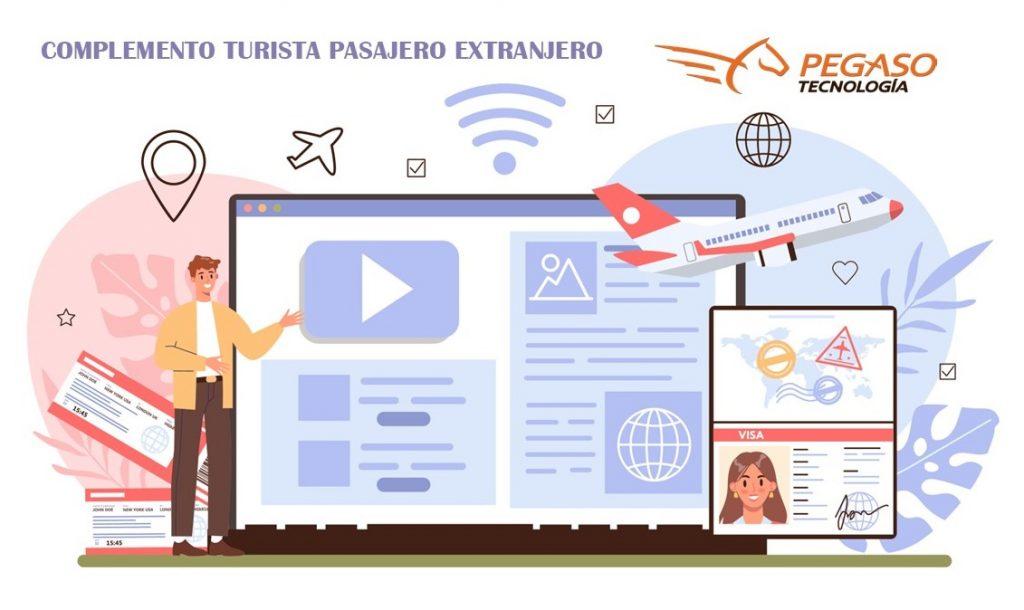 Complemento turista pasajero extranjero